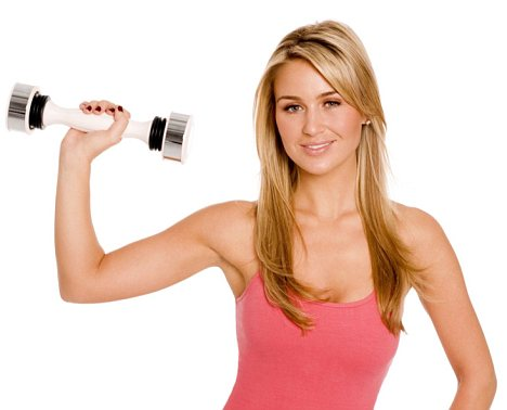 Get Sexy,Toned Arms & Shouldersin just minutes per day using the Shake Weight!!